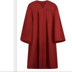 Graduation gown with cap and 2019 tassel